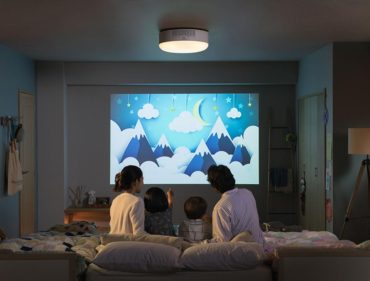 お部屋の壁をホームシアターに変えるプロジェクター<popIn Aladdin>