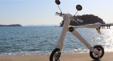 手軽に乗れて生活がずっと便利に、楽しく:電動モバイルバイク<BLAZE SMART EV>